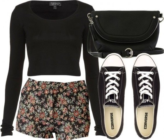 Simple Day Out - Casual Outfits