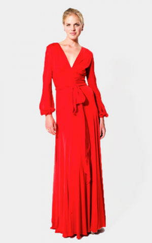 Red Sarai Dress
