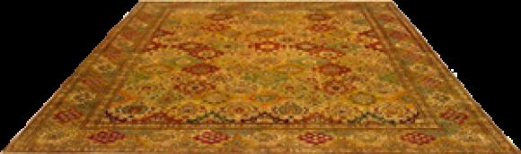 Gold Persian Rug