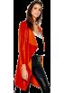 Modalist Jaquetas e casacos -   Belted Jacket,Velvet,Fashion
