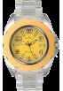 AK Anne Klein Watches -  AK Anne Klein Transparent Bracelet Yellow Dial Women's watch #10/9641YLCL