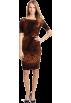 AK Anne Klein Dresses -  AK Anne Klein Women's Jersey Fall Floral Dress Vermeer Combo