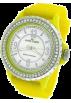 AK Anne Klein Watches -  AK Anne Klein Yellow Silicone Strap Ladies Watch #109439MPYL