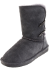 Bearpaw Boots -  BEARPAW Women's Abigail Boot Charcoal