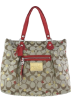COACH Bag -  Coach Poppy Signature Lurex Glam Tote Secret Admirer Khaki