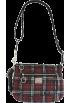 COACH Bag -  Coach Signature Poppy Tartan Swing Pack Black Multi