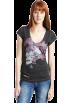 DIESEL T-shirts -  Diesel Women's Tulur-B T-Shirt Black