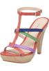 NINE WEST Piattaforme -  Nine West Women's Abide T-Strap Sandal