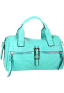 B. MAKOWSKY Hand bag -  B. MAKOWSKY Metropolitan Satchel Petrol Green