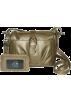 Buxton Hand bag -  B-Collective Handbags by Buxton 10HB016.GD Cross Body- Gold