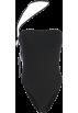FECLOTHING Kombinezoni -  Black side straps design small vest fema