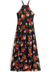 FECLOTHING Dresses -  Bohemian split skirt with holiday wind b