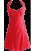 FECLOTHING Dresses -  Bow halter dress