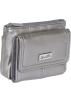 Buxton Wallets -  Buxton Muted Metallics Mini Pouch Pewter