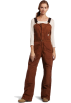 Carhartt Pants -  Carhartt Women's Sandstone Bib Pant Brown