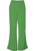Amazon.com Pants -  Cherokee 4101 Low Rise Flare Scrub Pant Aloe