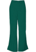 Amazon.com Pants -  Cherokee 4101 Low Rise Flare Scrub Pant Hunter