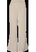 Amazon.com Hlače - dolge -  Cherokee 4101 Low Rise Flare Scrub Pant Khaki