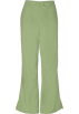 Amazon.com Pants -  Cherokee 4101 Low Rise Flare Scrub Pant Sage Green