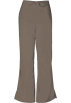 Amazon.com Pants -  Cherokee 4101 Low Rise Flare Scrub Pant Taupe