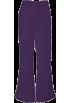 Amazon.com Pants -  Cherokee 4101 Low Rise Flare Scrub Pant eggplant