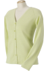 Chestnut Hill Puloverji -  Chestnut Hill Ladies Buttoned Cardigan. CH405W Bamboo