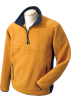 Chestnut Hill Pullovers -  Chestnut Hill Men's Polartec Colorblock Quarter Zip Pullover. CH970 Hawthorne/True Navy