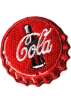 FECLOTHING Other jewelry -  Coca-Cola brooch sticker