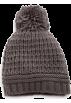 Amazon.com Cap -  Echo Design Women's Icelandic Patchwork Texture Pom Hat Grey Heather
