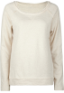 Full Tilt Long sleeves t-shirts -  FULL TILT Essential Cut Seam Womens Sweatshirt Oatmeal