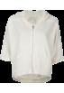 Full Tilt Long sleeves t-shirts -  FULL TILT Lace Sleeve Womens Hoodie Oatmeal