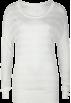 Full Tilt Long sleeves t-shirts -  FULL TILT Sheer Womens Scoop Top Cream