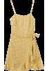 FECLOTHING Dresses -  Floral Sling Ruffle Dress