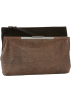 Foley + Corinna Clutch bags -  Foley + Corinna Double Venti 8605642 Clutch Black/Brown