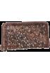 Frye Wallets -  Frye Deborah Glazed Vintage DB970 Wallet Chocolate