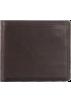 Frye Wallets -  Frye James Tumbled Full Grain Wallet Dark Brown