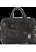 Frye Hand bag -  Frye James Work Zip Tumbled Full Grain DB116 Briefcase Black