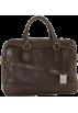 Frye Hand bag -  Frye James Work Zip Tumbled Full Grain DB116 Briefcase Dark Brown