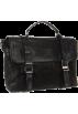 Frye Hand bag -  Frye Logan Flap Brief Case Black