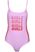 FECLOTHING Overall -  GIRLS GIRLS Slim Printed Onesies