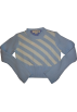 Tommy Hilfiger Long sleeves shirts -  Girl's Tommy Hilfiger Sweater Blue and White Stripes Size S/P
