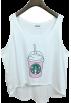 FECLOTHING Tanks -  Harajuku style wear loose sling sleevele