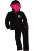 Hello Kitty Track suits -  Hello Kitty Toddler Girls Fashionable Mini Sequins On Fleece Active-Wear Set Anthracite