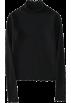FECLOTHING Long sleeves shirts -  High collar short lace bottom shirt top