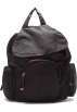 Amazon.com Backpacks -  Hobo International Nylon with Vintage Dublin Black
