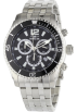 Invicta Relógios -  Invicta Men's 0621 II Collection Chronograph Stainless Steel Watch