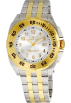 Invicta Relógios -  Invicta Signature II Two Tone Stainless Steel Mens Watch 7295