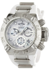 Invicta Watches -  Invicta Women's 0535 Subaqua Noma IV Collection Chronograph Stainless Steel and White Polyurethane Watch