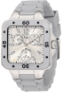 Invicta Watches -  Invicta Women's 1308 Angel Collection Multi-Function Silver Rubber Watch