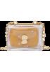 FECLOTHING Messaggero borse -  Jelly casual child small square bag chai